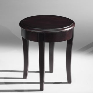 Classic Brazilian Cherry Finish End Table