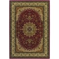 Izmir Royal Kashan/ Red Area Rug (5'3 x 7'6)