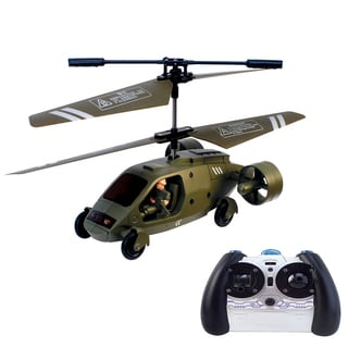 Hype HRC-06 Mini Remote-Controlled Military Assault Chopper