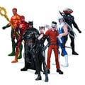 DC Super Heroes vs. Super Villains 7-pack Action Figure Set