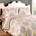Laura Ashley Tatton 3-piece Reversible Comforter Set