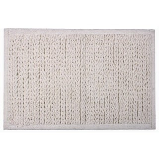 Knitted Chenille Cotton Bath Mat