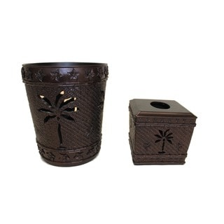 Sherry Kline Martinique Bath Accessory 2-piece Set