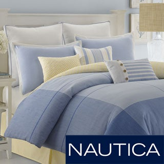Nautica Beech Island Oversized Comforter with Optional Sham Separates