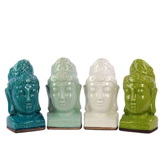 Stoneware Buddha (Set of 4)