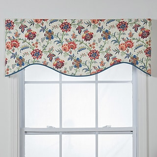 Chelsea Cotton Shaped Window Valance