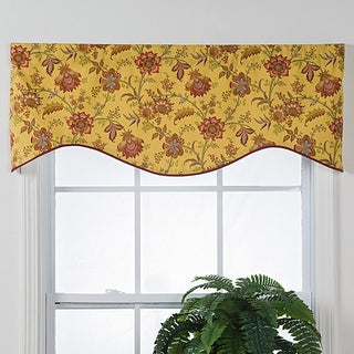 Norwich Shaped Window Valance