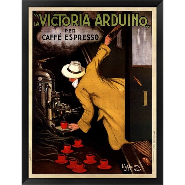 Leonetto Cappiello 'Victoria Arduino' Framed Art