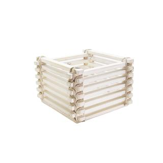 Myan White Square Carrier