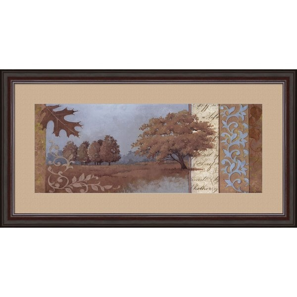 Anita Phillips 'Fall Serenity' Framed Art