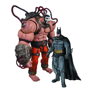 Batman Arkham City Batman vs. Bane Action Figures