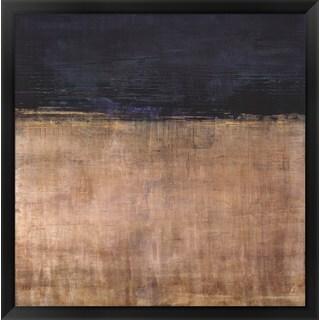 Liz Jardine 'Pompeian Teal' Framed Art