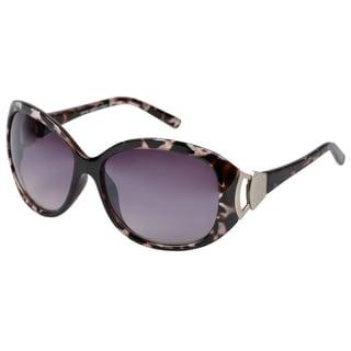 Journee Collection Women's Oversized Black Fashion Sunglasses