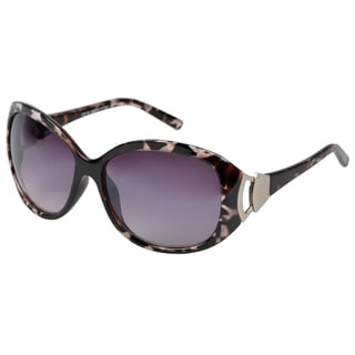 Journee Collection Women's Oversized Black Fashion Sunglasses