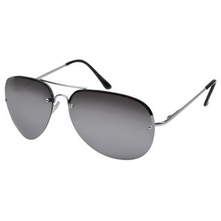 Journee Collection Women's Fashion Aviator Sunglasses - Gunmetal