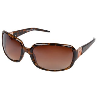 Journee Collection Women's Rectanglar Plastic Fashion Sunglasses