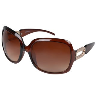Journee Collection Women's Oversize Scratch-Resistant Vintage Fashion Sunglasses