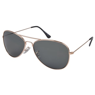 Journee Collection Women's Fashion Aviator Sunglasses - Silver or Gold