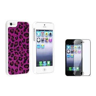 BasAcc Case with Card Holder/ LCD Protector for Apple iPhone 5/ 5S