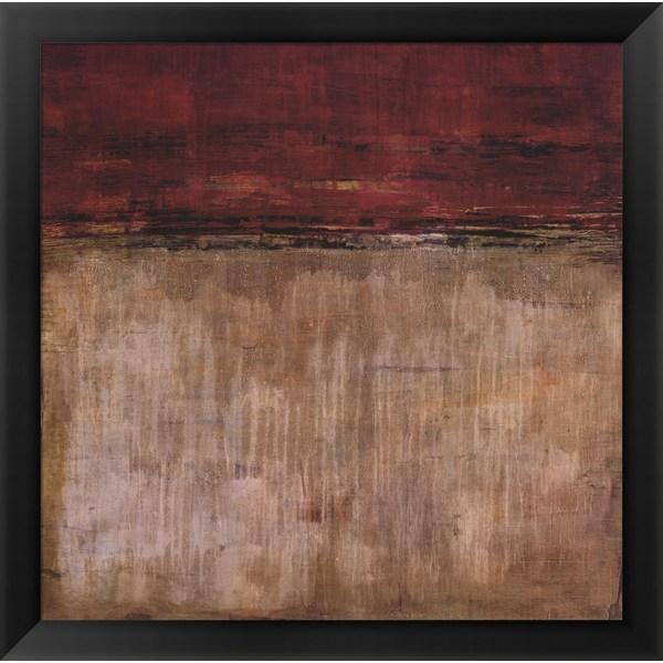 Liz Jardine 'Pompeian Red' Framed Art