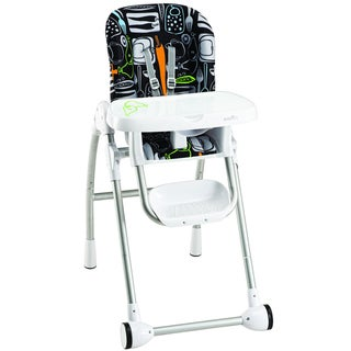 Evenflo Modern High Chair In Crayon Scribbles Overstock