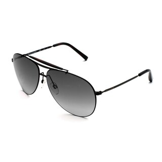 Tommy Hilfiger 1118-S Aviator Sunglasses (Matte Black) with Case