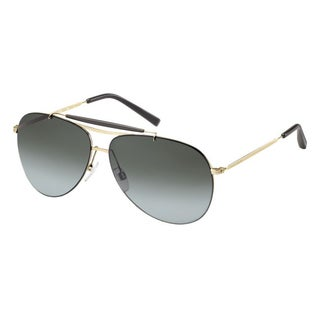 Tommy Hilfiger 1118-S Aviator Sunglasses (Semi Matte Gold) with Case
