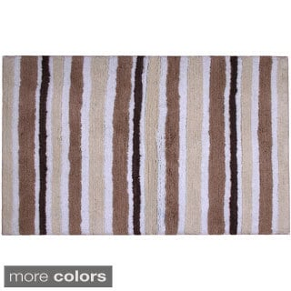 Avenue Chenille Stripe Bath Mat