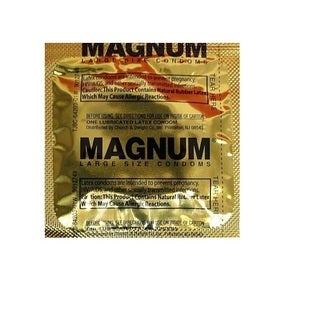 Trojan Magnum Lubricated Latex Condom (Pack of 36)