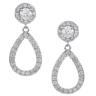 Journee Collection Cubic Zirconia Drop Earrings