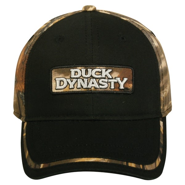 Duck Dynasty Black and Camo Adjustable Hat