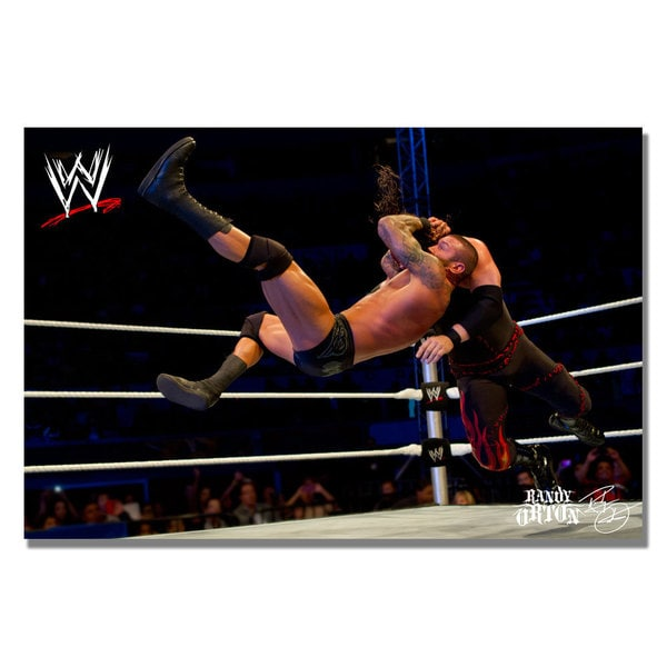 WWE 'Randy Orton' Canvas Art
