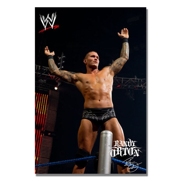 WWE 'Randy Orton 2' Canvas Art