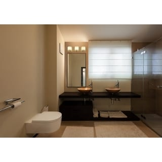 Alternating Current Clean 3-Light LED Satin Nickel Vanity