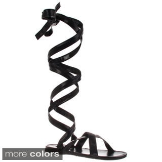 Funtasma Men's 'Roman-12' Tall Wrapped Gladiator Sandals