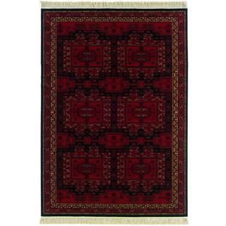 Kashimar Oushak/ Brick Red Area Rug (6'6 x 10'1)