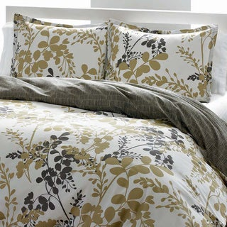 City Scene Sassafras Cotton 3-piece Duvet Cover Set