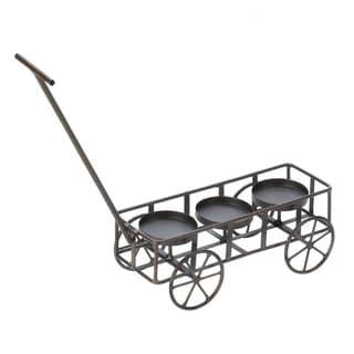 Garden Wagon Candleholder