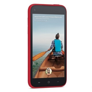 HTC First 16GB Unlocked GSM 4G LTE Dual-Core Android 4.1 Cell Phone - Red