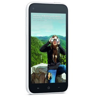 HTC First 16GB Unlocked GSM 4G LTE Dual-Core Android 4.1 White Smartphone