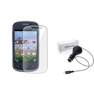 BasAcc Car Charger/ Screen Protector for Samsung Galaxy Centura S738C
