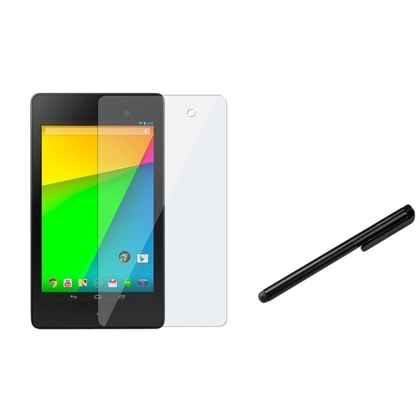 INSTEN Black Stylus/ Screen Protector for Google New Nexus 7