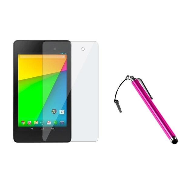 INSTEN Pink Stylus/ Screen Protector for Google New Nexus 7