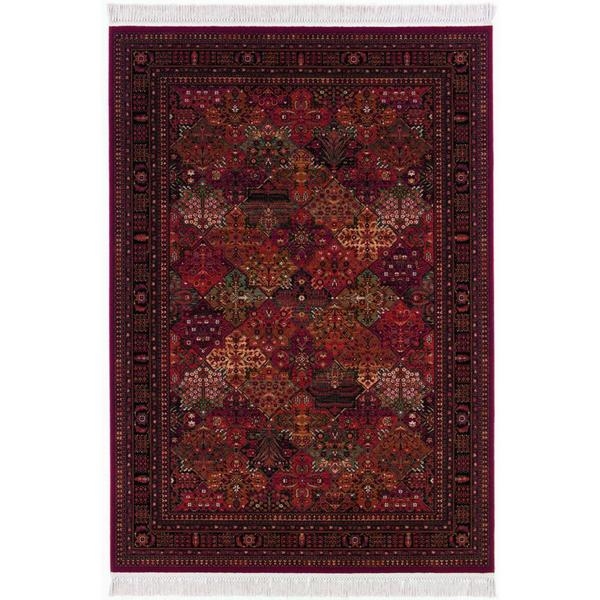 Kashimar Imperial Baktiari/ Antique Red Area Rug (5'3 x 7'9)