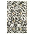 Flatweave TriBeCa Grey Motif Wool Rug (8' x 10')