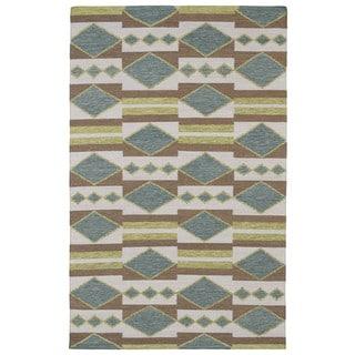 Flatweave TriBeCa Multi Wool Rug (9' x 12')