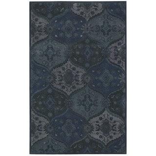 Nourison Hand-tufted India House Denim Rug (8 x 10'6)