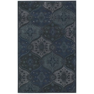 Nourison Hand-tufted India House Denim Rug (8 x 10'6)