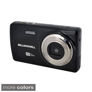 Bell+Howell S12 Slim 12.0 MP Digital Camera