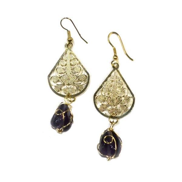 Dew Drop Earrings (India)